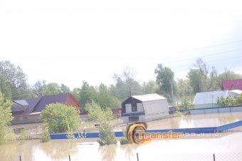 Белокуриха во время наводнения 2014г