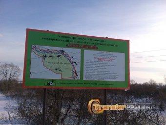 9го января 2016г экскурсия на Лебединое озеро