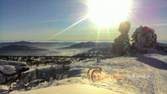 Один из туров Барнаул - Шерегеш 22-24е января