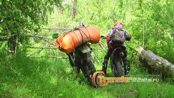 Мотопробег по Тюнгурской тропе туда и обратно